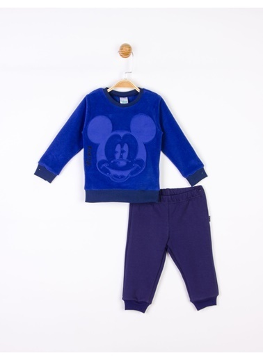 Mickey Mouse Disney Polar Bebek Takım 18038 Lacivert